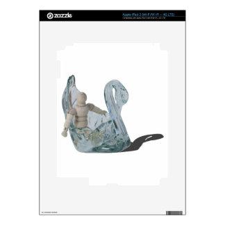 Copia SwanBoat082414 Pegatina Skin Para iPad 3