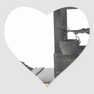 Copia WishingForBusinessIncrease083114 Pegatina En Forma De Corazón