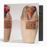 """Copias de dos tarros canopic del nuevo reino carpeta 1 1/2"""""""