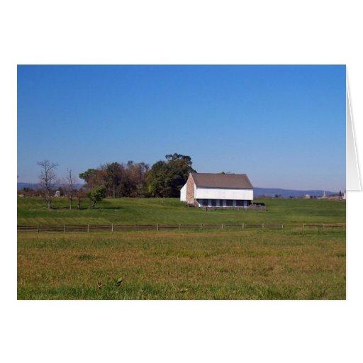 Copie (6) de la granja de la guerra civil tarjeta de felicitación