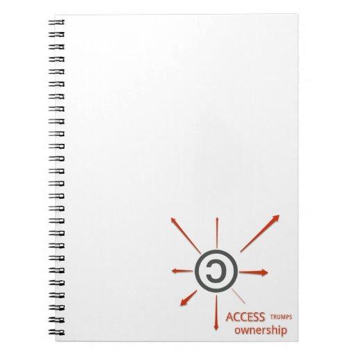 Copie el cuaderno izquierdo de la estrella del cao