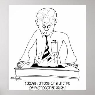 Copier Cartoon 8901 Poster