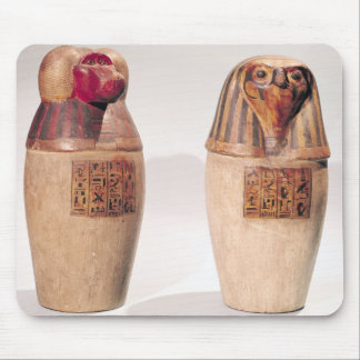 Copies of two New Kingdom canopic jars Mouse Pad