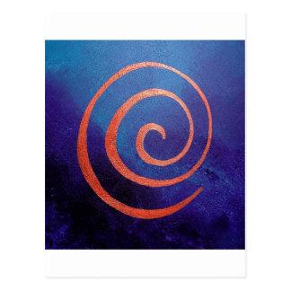 Copilot by spiral on Deep Blue - Philip Bowman Des Post Cards