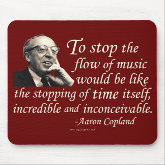 Copland on Music Mouse Mat