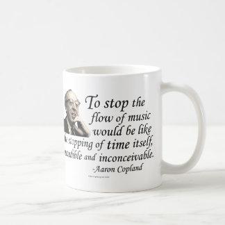 Copland on Music Classic White Coffee Mug