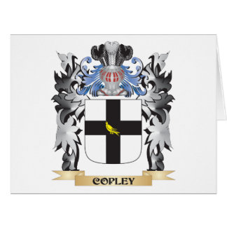 Copley Coat of Arms - Family Crest Card