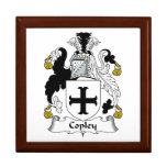 Copley Family Crest Jewelry Box