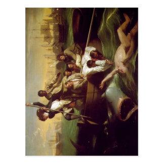 Copley, John Singleton Watson and the Shark 1778 T Postcard