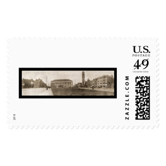 Copley Square Boston Photo 1910 Postage Stamps