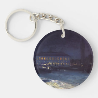 Copley Square by George Luks Acrylic Keychain