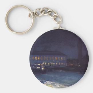 Copley Square by George Luks Key Chain