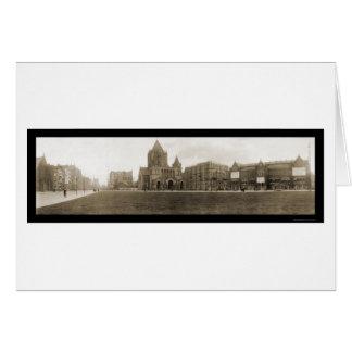 Copley Square MA Photo 1910 Card