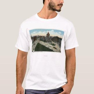 Copley Square View of Trinity Church T-Shirt
