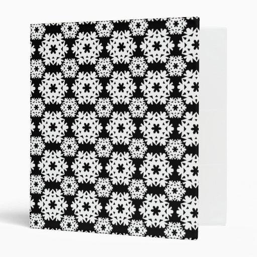 Copo de nieve 10 blanco y negro