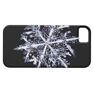 Copo de nieve 9 funda para iPhone 5 barely there