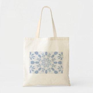 Copo de nieve azul bolsa