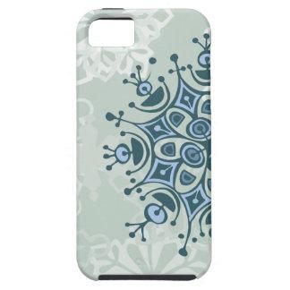 Copo de nieve azul funda para iPhone SE/5/5s