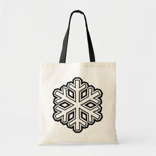 Copo de nieve bolsa tela barata