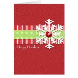 Copo de Nieve Card