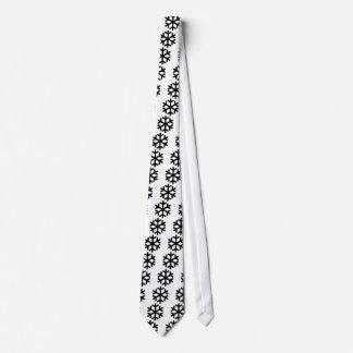 Copo de nieve corbata personalizada