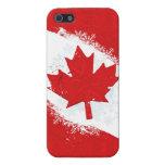 Copo de nieve de Canadá iPhone 5 Cárcasas