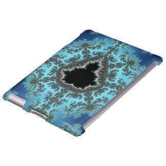 Copo de nieve de Mandelbrot - diseño del fractal Funda Para iPad