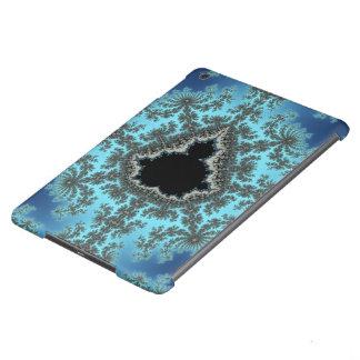 Copo de nieve de Mandelbrot - diseño del fractal Funda Para iPad Air