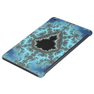 Copo de nieve de Mandelbrot - diseño del fractal Fundas De iPad Mini Retina