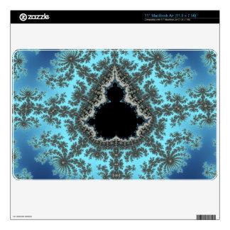 Copo de nieve de Mandelbrot - diseño del fractal MacBook Air 27,9cm Skins