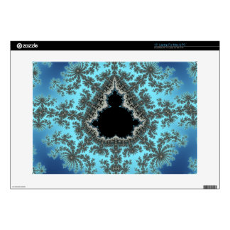 Copo de nieve de Mandelbrot - diseño del fractal Portátil 38,1cm Skins