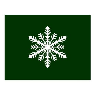 Copo de nieve de Minnesnowta Tarjetas Postales