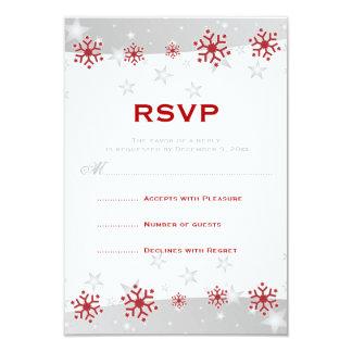 Copo de nieve de plata rojo del blanco gris que comunicado personal