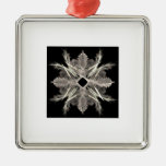 Copo de nieve del arte del fractal adorno