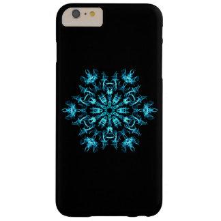 Copo de nieve del fractal funda de iPhone 6 plus barely there