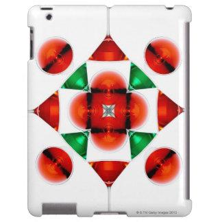 Copo de nieve del vidrio de Martini Funda Para iPad
