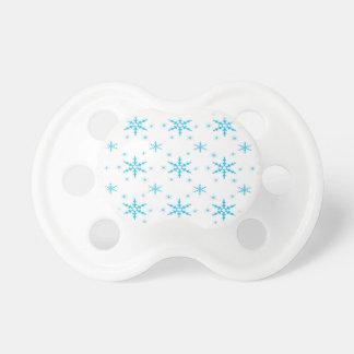 Copo de nieve lindo pattern.jpg de 512 navidad chupete de bebé