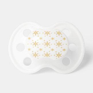 Copo de nieve lindo pattern.jpg de 514 navidad chupetes de bebé