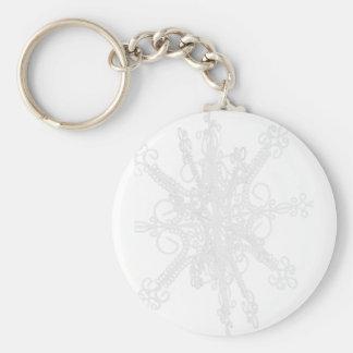copo de nieve llavero personalizado