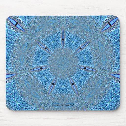 Copo de nieve Mousepad Alfombrillas De Raton