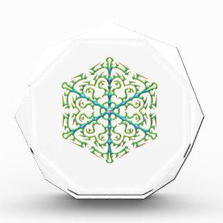 Copo de nieve multicolor 1