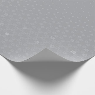 Copo de nieve papel de regalo