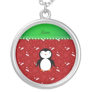 Copo de nieve rojo personalizado de los gorras de grimpola