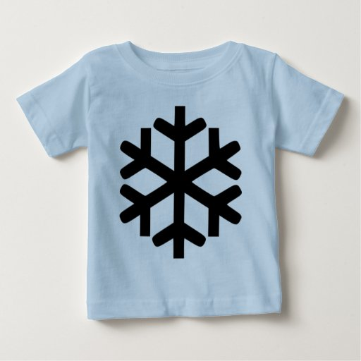 Copo de nieve t-shirt