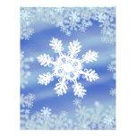 Copo de nieve tarjetones
