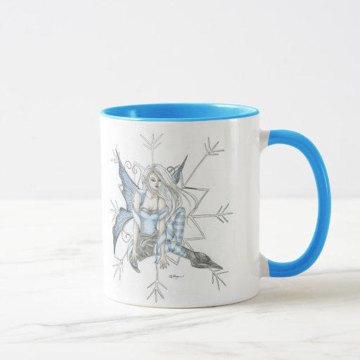 copo de nieve taza