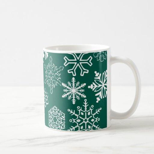 Copo de nieve taza clásica