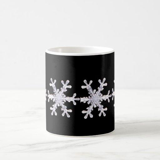 Copo de nieve taza de café