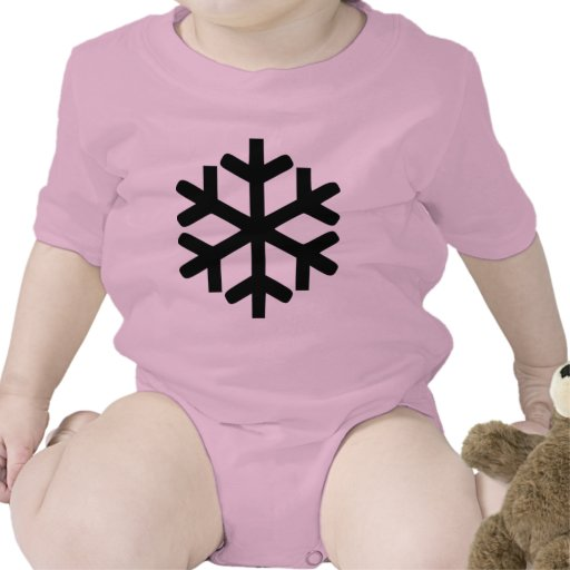 Copo de nieve traje de bebé