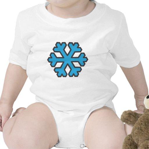 copo de nieve trajes de bebé